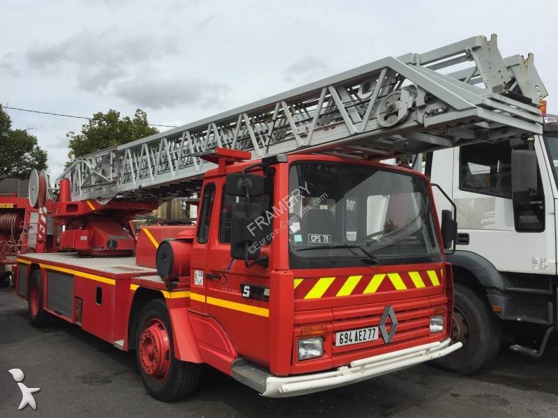 camion pompiers occasion renault gamme s 170 gazoil annonce n 2865480. Black Bedroom Furniture Sets. Home Design Ideas