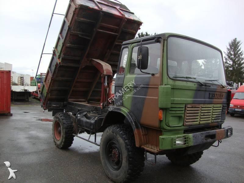 camion renault benne jp 2 4x4 gazoil occasion n 2865564. Black Bedroom Furniture Sets. Home Design Ideas