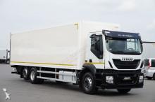 camion Iveco STRALIS / 310 / KONTENER + WINDA / 23 PELETY