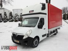 camión Opel MOVANOPLANDEKA 8 PALET KLIMA WEBASTO TEMPOMAT PNEUMATYKA AdBlue