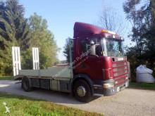 camion plateau ridelles Scania