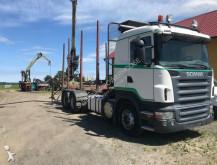 ciężarówka Scania R 560+ Loglift 96