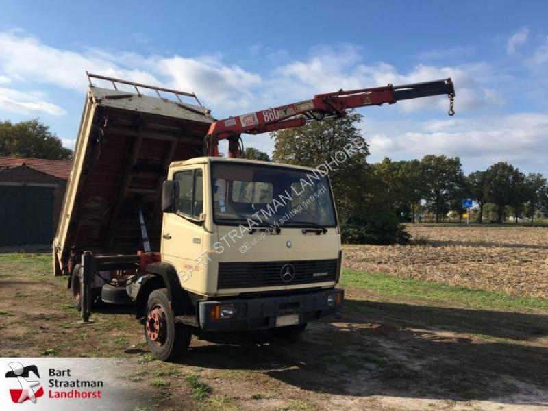 Kraan met kipper mercedes 132 advertenties voor for Vrachtwagen kipper met kraan