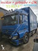 camion Teloni scorrevoli (centinato alla francese) incidentato