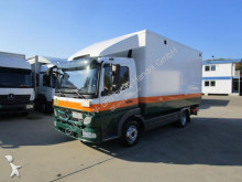 camion Mercedes ATEGO III 818 L Koffer 4,45 m LBW 1 to. Klima