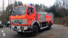 camion Mercedes 1632 AK Feuerwehr TLF 24/50 5000L Wassertank