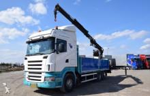 ciężarówka Scania R 380 HDS +ATLAS 155.1 A2