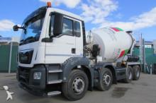 camion MAN TGS 32.400 8x4 BB - Stetter 9 m³ - Nr: 357