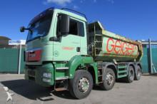 camion MAN TGS 35.400 8x4 BB hydraulische Klappe Nr.: 033