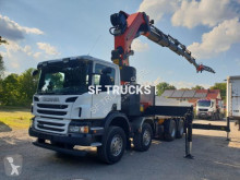 Scania standard flatbed truck