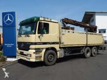 Mercedes Actros 2535 L Baustoff + Kran, grüne Plakette truck