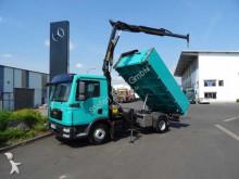 camion MAN TGL 12.250 4x2 Kipper + Kran Palfinger PK7001-K