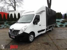 camión Renault MASTERPLANDEKA 8 PALET KLIMA WEBASTO TEMPOMAT PNEUMATYKA 165KM