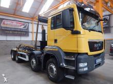 MAN TGS 35.360 EURO 5, 8 X 4 HOOKLOADER - 2013 - GF62 ZGR truck