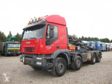 camion Iveco Trakker 450 8x4 HMF Kipper EURO 5