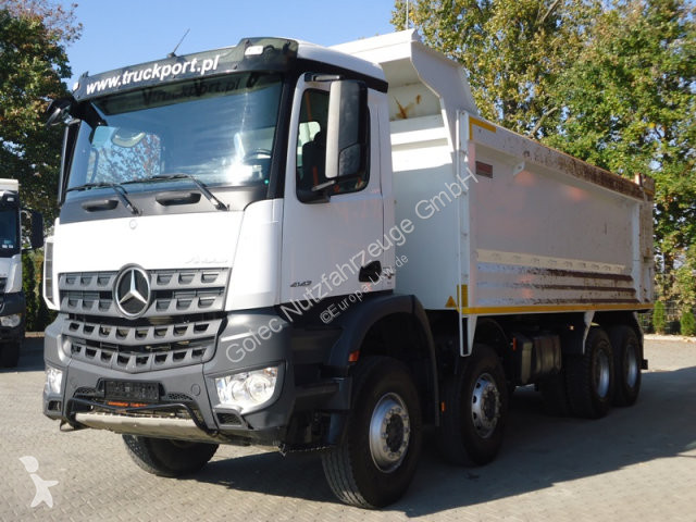Voir les photos Camion Mercedes 4142 8x4 EURO6 Muldenkipper Hardox TOP!