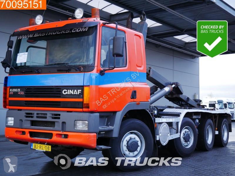 Camión Ginaf M4243-TS Manual Big-Axle 30-ton VDL Hooklift