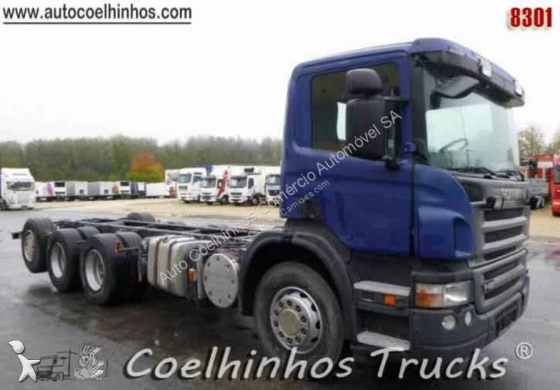 Used Scania trucks chassis PORTUGAL Left-hand drive Automatic transmission
