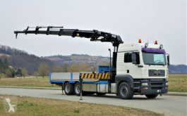 camion MAN TGA 28.350 Pritsche 6,30m+KraN/FUNK*Top Zustand!