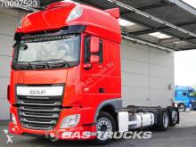 vrachtwagen containervervoer DAF