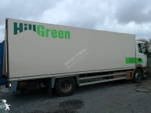 Scania plywood box truck