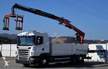 camion Scania G480 Pritshe 6,40m + Kran !!!