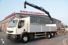 ciężarówka platforma burtowa Renault