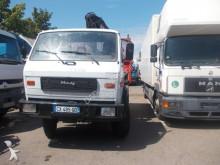 camion MAN 8.150 kipper 4x4 kran