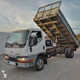Mitsubishi three-way side tipper truck