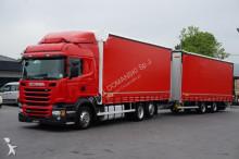 ciężarówka Scania R 450 / E 6 / ZESTAW PRZEJAZDOWY 120 M3 / RETARDER