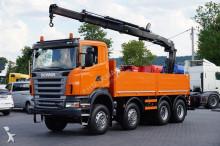 ciężarówka Scania R 420 / SKRZYNIOWY + HDS / 8 X 6 / MANUAL / PILOT