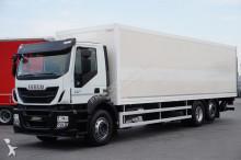 ciężarówka Iveco STRALIS / 310 / KONTENER + WINDA / 23 PELETY