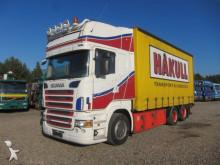 Scania tarp truck