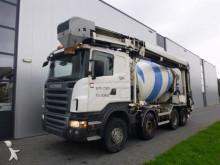camión hormigón cuba / Mezclador Scania