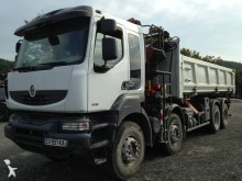 Renault two-way side tipper truck