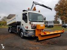 DAF three-way side tipper truck