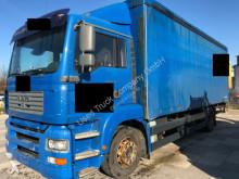 camion MAN TGA 18.390 LL Pritsche Schiebeplane LBW