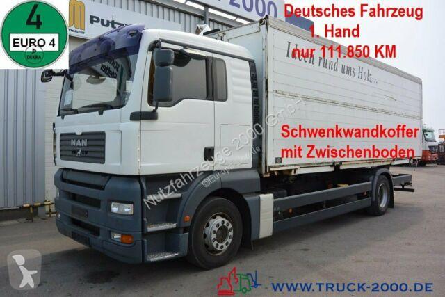 Camion MAN TGA 18.360 LL Koffer 1.Hd 5-Sitze Schaltgetriebe