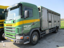 camion van à chevaux Scania