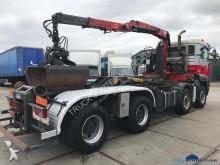 vrachtwagen containervervoer MAN