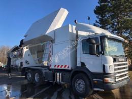 Scania vacuum truck