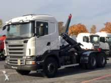 camion Scania R 480 / 6X4 / HOOKLIFT / DALBY SHM3 / MANUAL