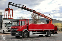 camion Mercedes AXOR 1829 / 4X2 /CRANE ATLAS 125.2 / SADDLE