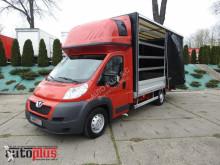 Peugeot BOXERPLANDEKA 10 PALET KLIMATYZACJA WEBASTO [ 5860 ] truck
