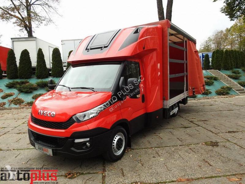 Ogromny Камион Iveco подвижни завеси DAILY 35S17 PLANDEKA FIRANA 10 PALET WS82