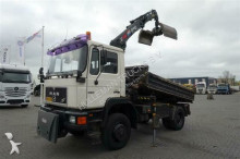 MAN 19.192 MANUAL HUB REDUCTION truck