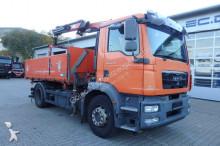 MAN TGM 18.340 BL 4x2 Euro 5 Kipper Kran PK11001 truck