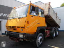 Steyr three-way side tipper truck