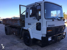 Volvo three-way side tipper truck