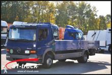camion Mercedes Atego1223 4x2 BL Pritsche 6,9m +1,5m, Klima,